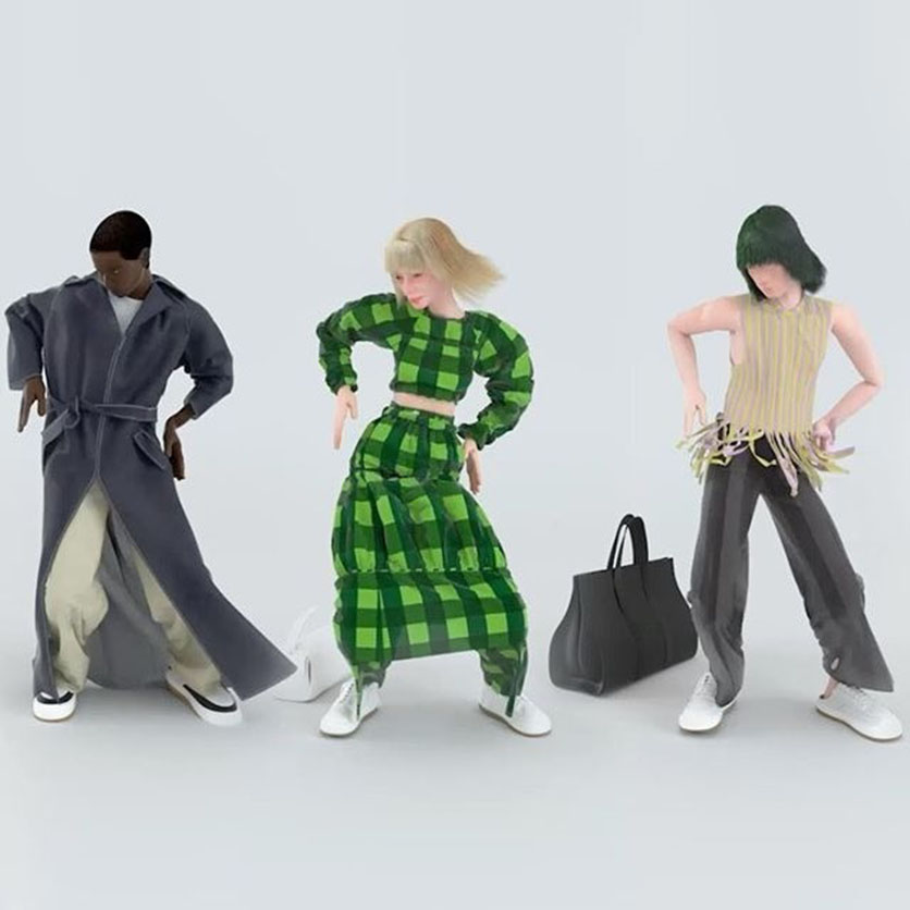 La moda digitale: tra fashion avatar e phygital shows
